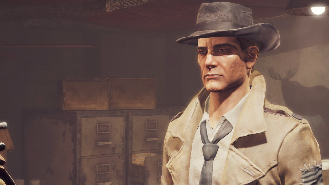 Generation 3 Nick Valentine At Fallout 4 Nexus Mods And