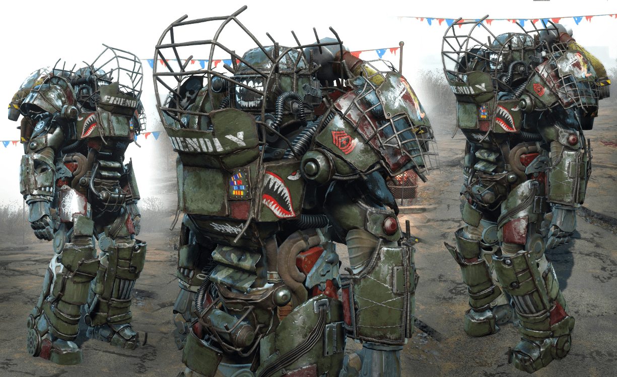 Raider Power Armor Chop Shop At Fallout 4 Nexus Mods And