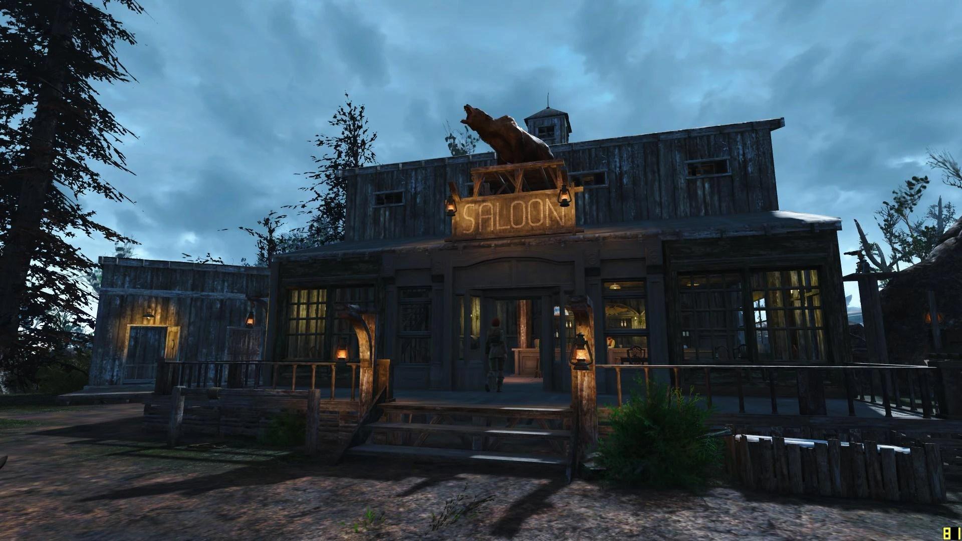 Sunshine Tidings Wild West Style At Fallout 4 Nexus