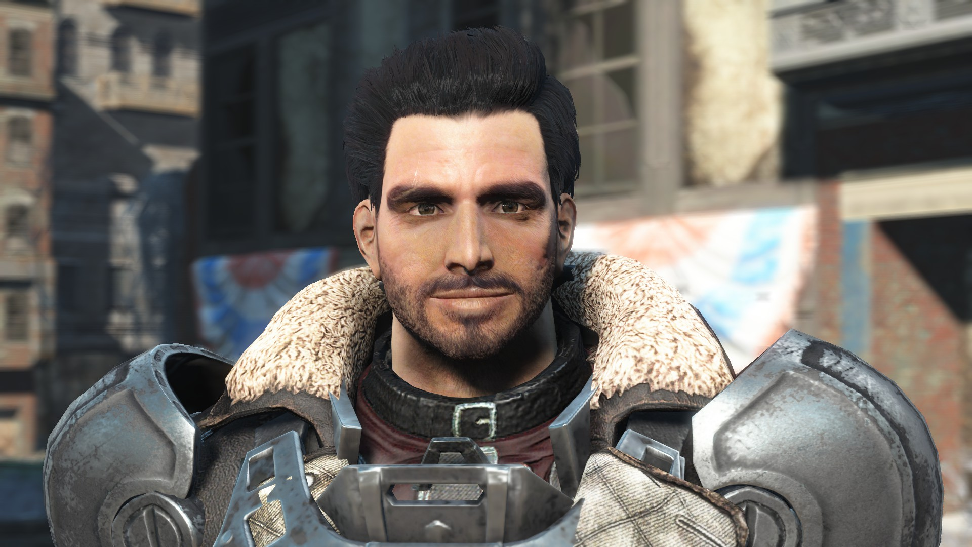 Paladin Danse Face Clean Up At Fallout 4 Nexus Mods And