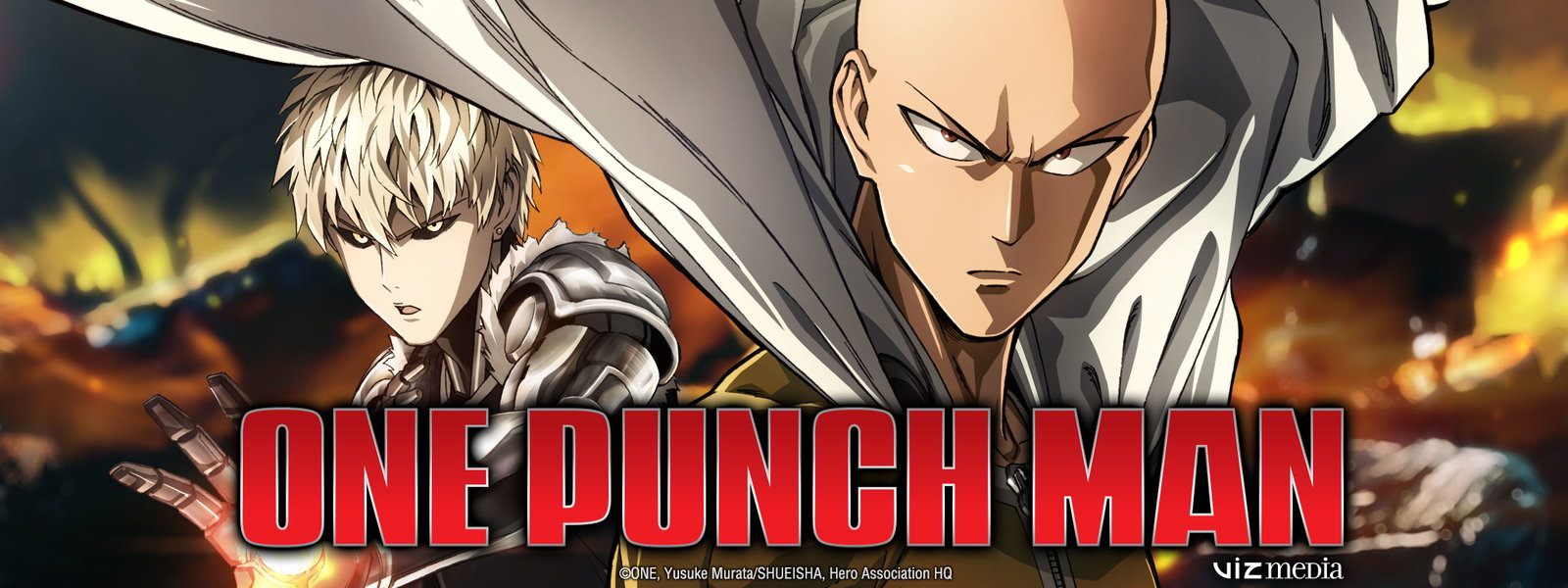 top 10 animes, one punch man