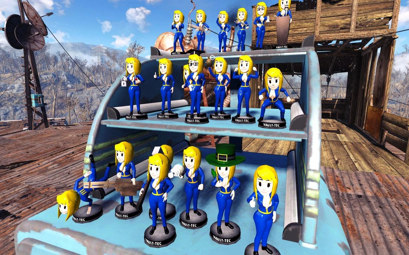 Vault Girl Bobbleheads At Fallout 4 Nexus