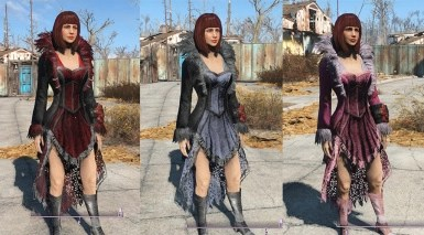 Feathered Dress Fallout 4