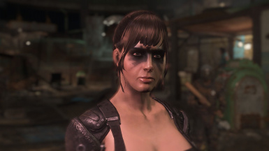 Quiet MGSV Face Paint At Fallout 4 Nexus