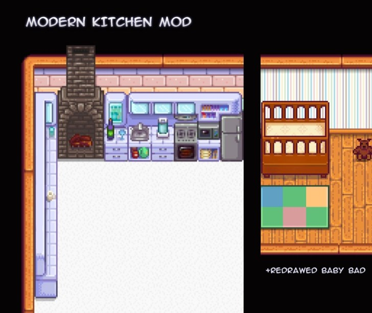 Modern Kitchen Stardew Valley Nexus Mods Community