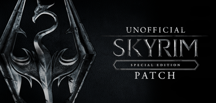 Poster Unofficial Skyrim Special Edition Patch