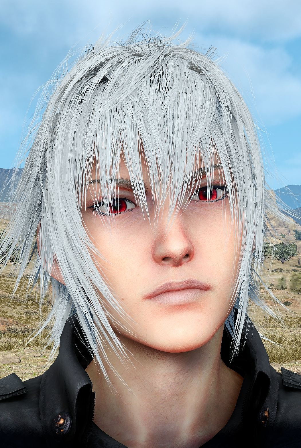 Change Noctis Hair Eyes Shirt Outfit Color At Final