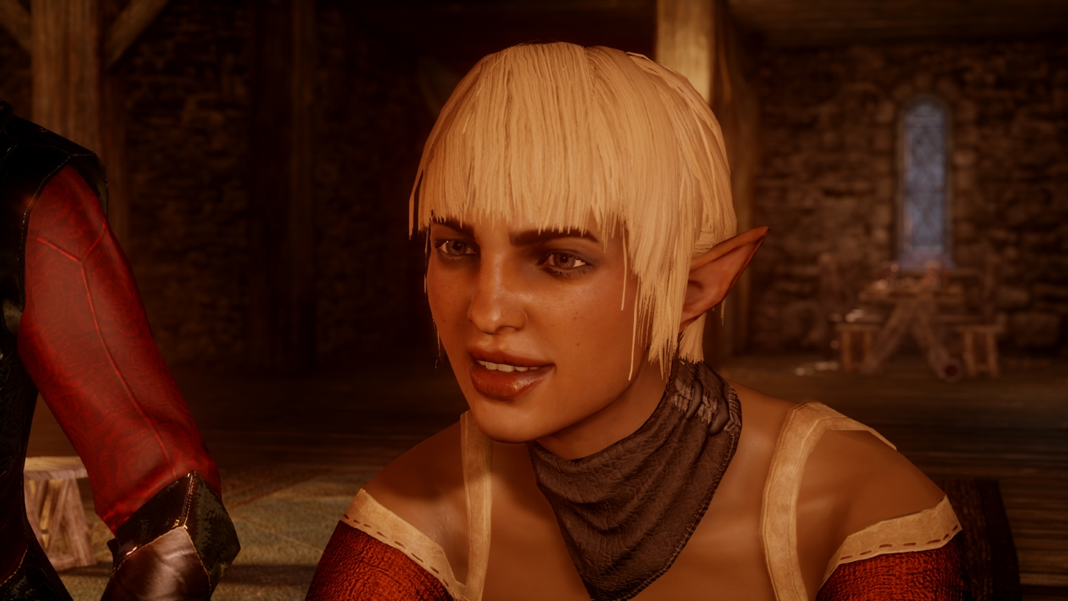 Longer Bangs For Sera At Dragon Age Inquisition Nexus