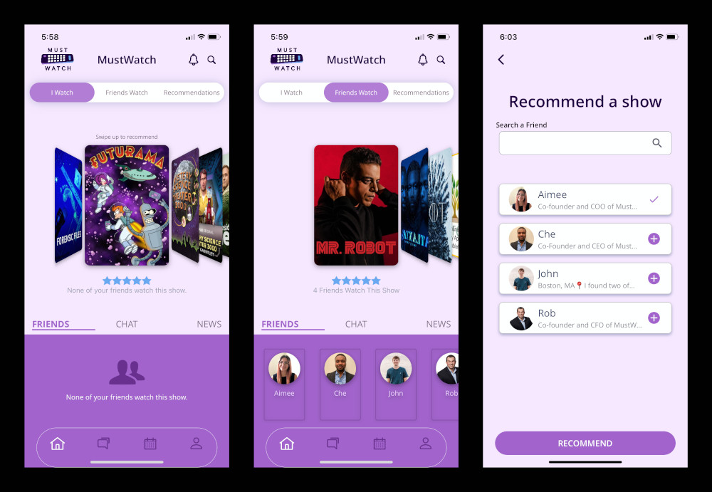 MustWatch - The New Social Hub For TV 2