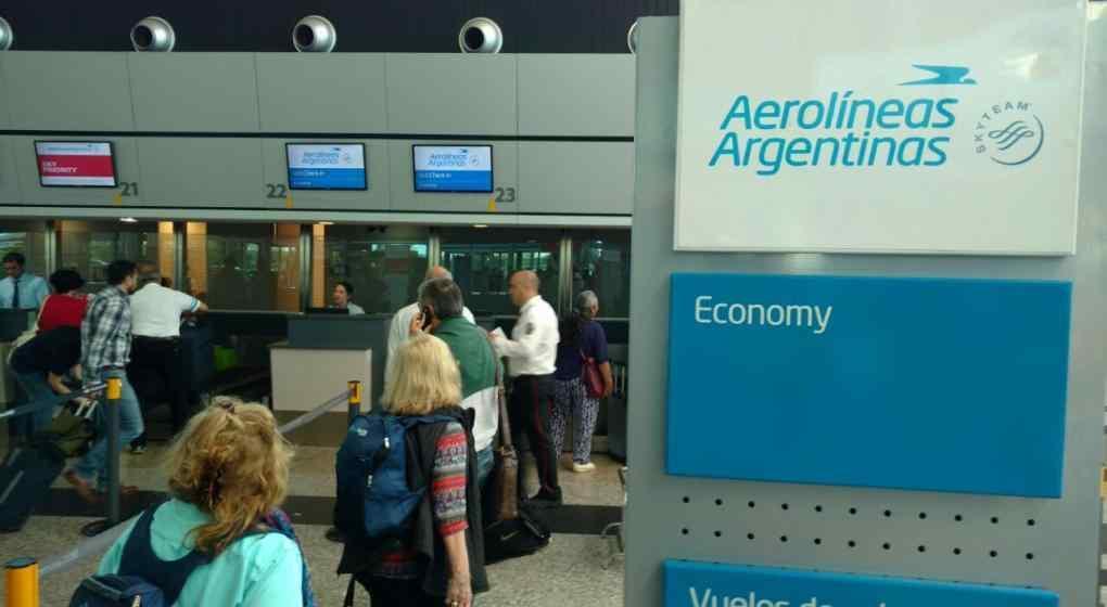 Resultado de imagen para aerolineas argentinas vuelos internacionales cancelados