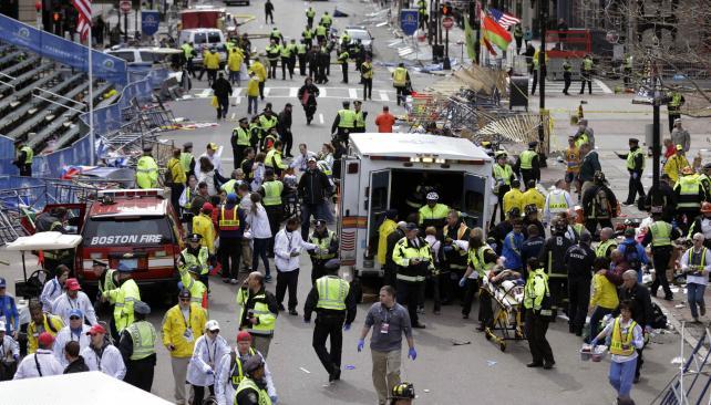 Horror. El ataque de abril de 2013 dejó tres muertos y 264 heridos (AP/Archivo)