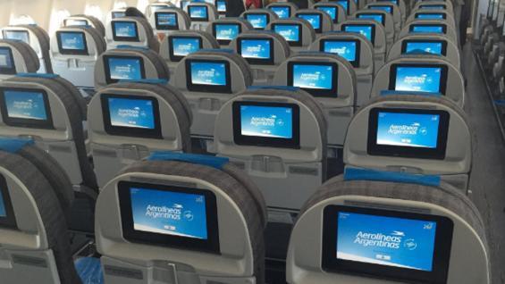 AVIÓN. El A330-200 que presentó Aerolíneas (Twitter Aerolineas_AR).