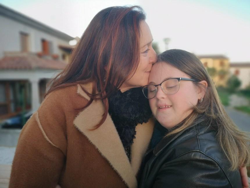 Marianna con la mamma Maria Consiglia