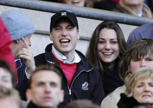 William e Kate nel 2007