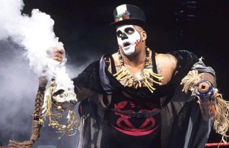 Papa Shango seems to operate on instinct rather than elaborate planning