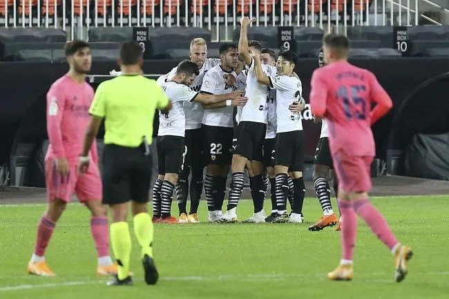 Valencia 4-1 Real Madrid: 5 hits and flops as Soler hat-trick sinks  champions | La Liga 2020-21