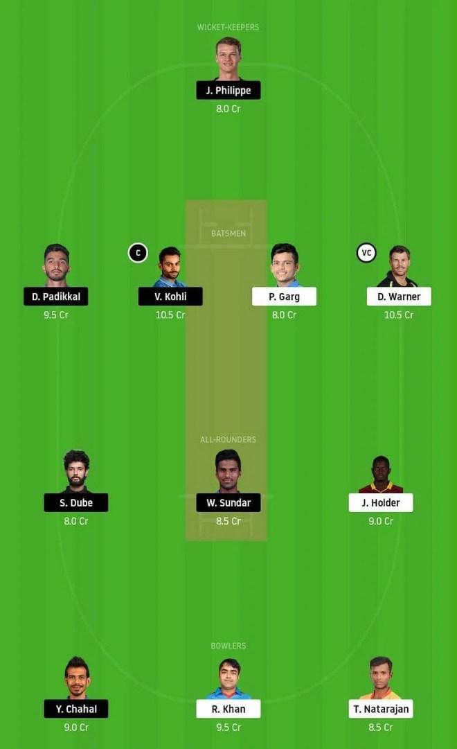 SRH vs RCB IPL Dream11 Tips