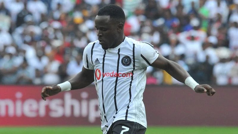 Frank Mhango is an important player for Orlando Pirates