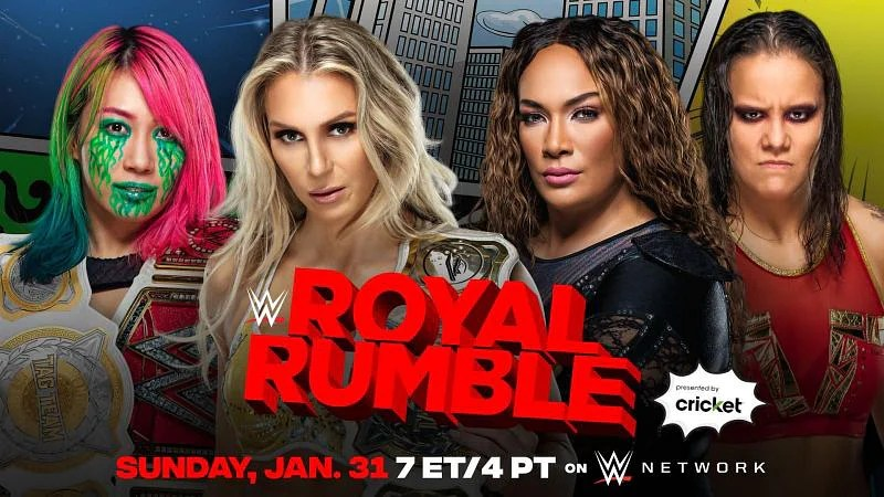 Asuka and Charlotte Flair to defend WWE Women's Tag Team Championship at Royal  Rumble