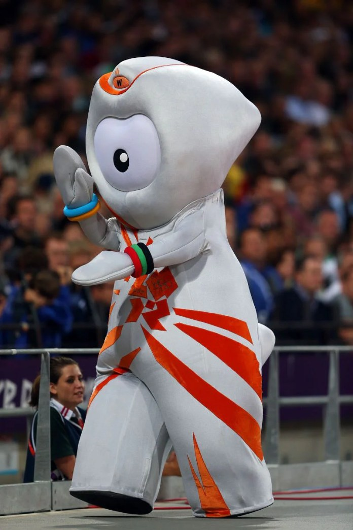 Wenlock, the official mascot for the 2012 London Olympics.