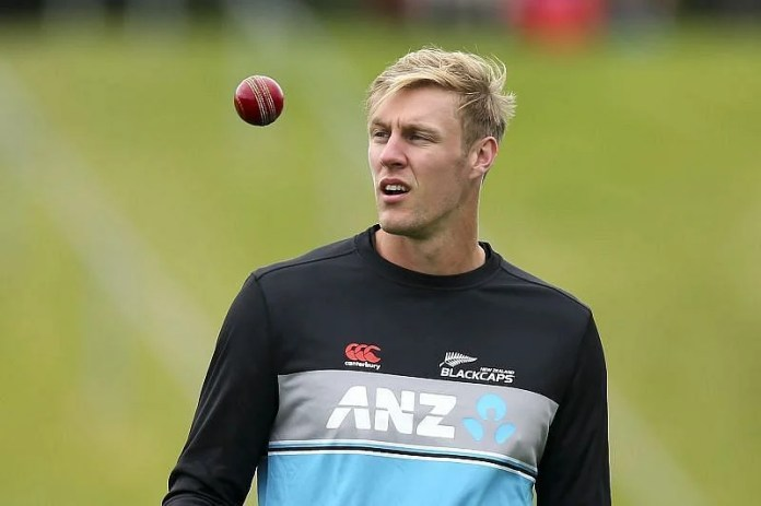 Kyle Jamieson appeared off-color in the first T20I.