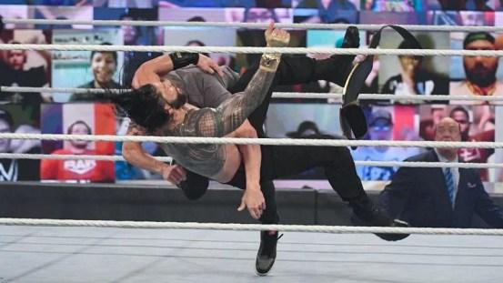Edge, 2021. Royal Rumble, Hugo Savinovich, Roman Reigns