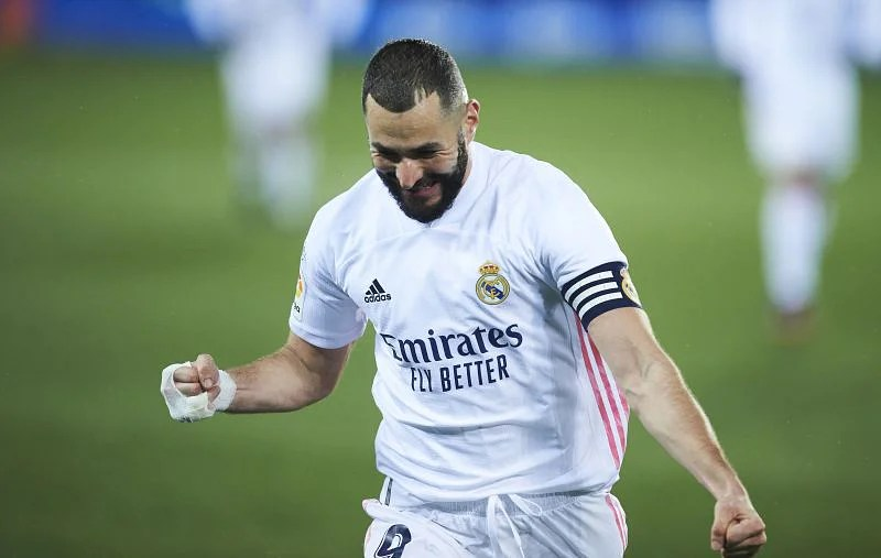 Karim Benzema opened the scoring for Real Madrid