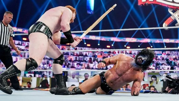 Sheamus still poses a huge threat to Drew McIntyre