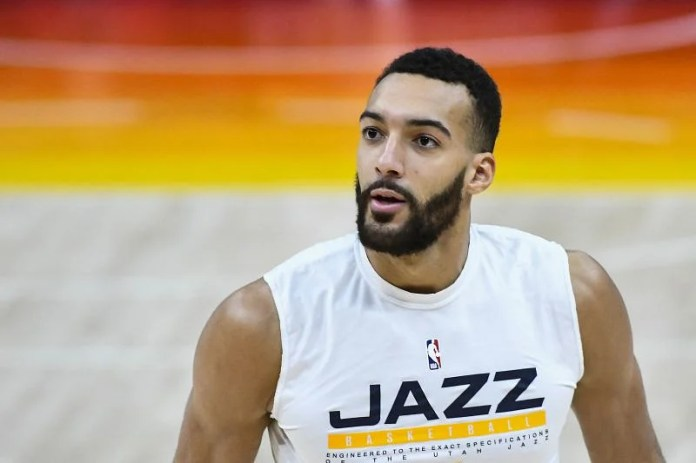 Rudy Gobert has led the Utah Jazz to the top of the Western Conference