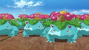 Where fine pokemon Grass type in Pokemon GO