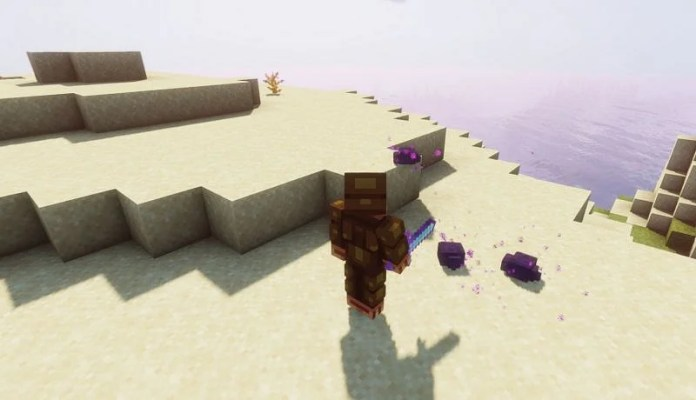 Bane of Arthropods is a weapon enchantment that increases damage to Arthropod mobs (Image via Minecraft)