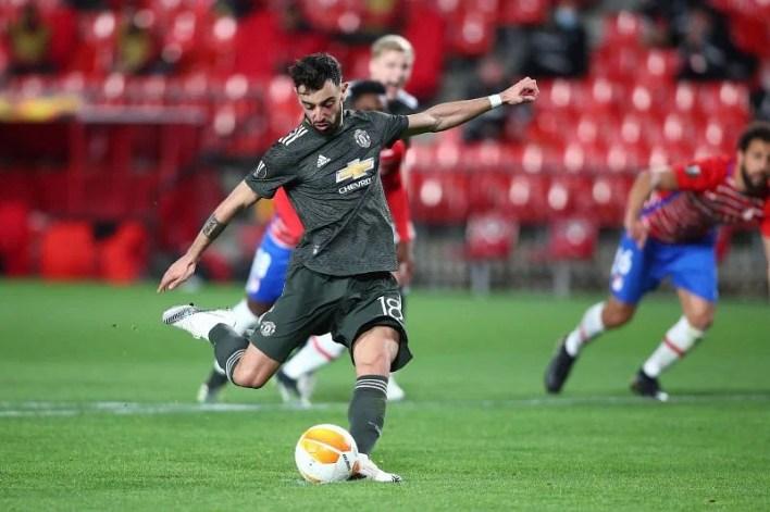 Bruno Fernandes bagged Manchester United