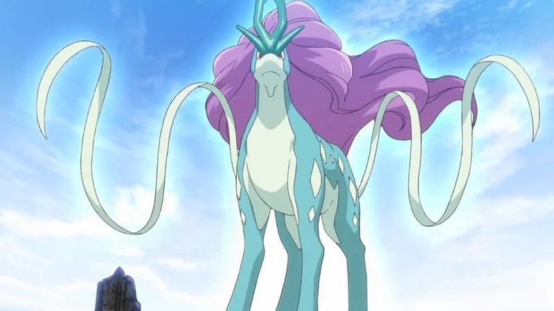 The best moveset for Suicune in Pokemon Gold and Silver