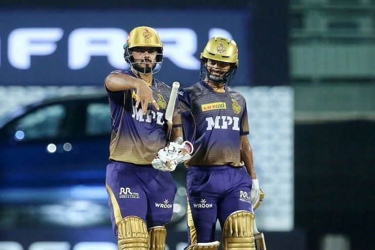 Nitish Rana (L) had also tested positive for Covid-19 before IPL 2021