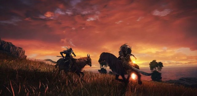 Horseback combat (Image via FromSoftware)