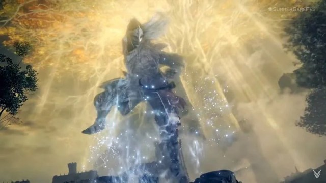 Summoning the mount (Image via FromSoftware)
