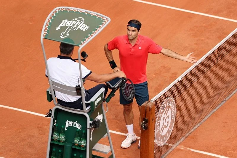 """Roger Federer says he was """"shocked & surprised"""" by time violation against  Marin Cilic, labels the incident a """"misunderstanding"""""""
