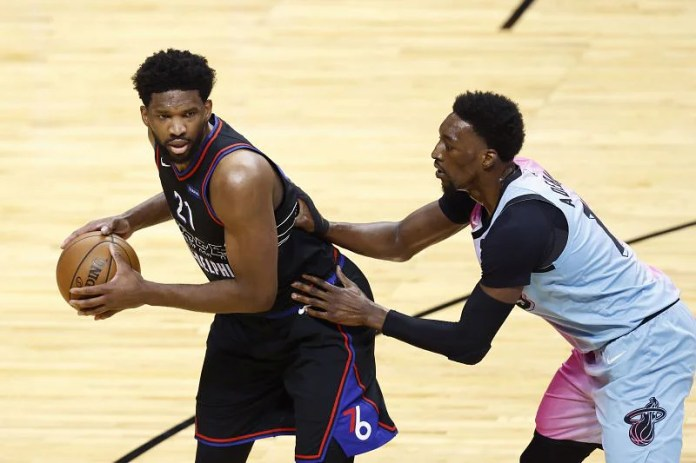 Is Joel Embiid playing tonight against the Atlanta Hawks in Game 1 of 2021 NBA Playoffs Round 2?