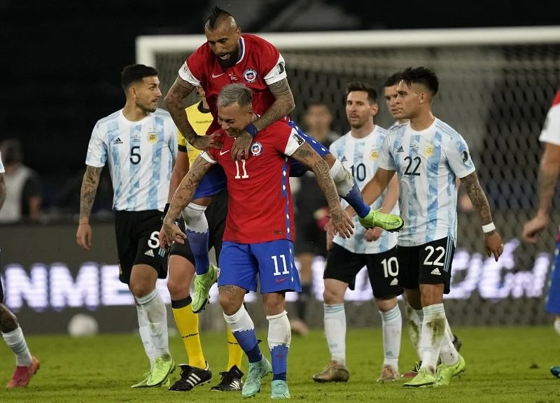 Argentina 1-1 Chile: 5 talking points as Eduardo Vargas cancels Lionel  Messi's awe-inspiring free-kick in damp Group A opener | Copa America 2021