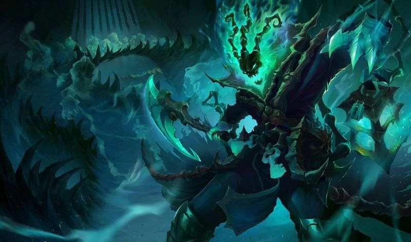 Thresh can isolate enemies and set up easy kills with his hook (Image via League of Legends)