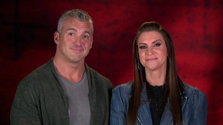 Stephanie and Shane McMahon
