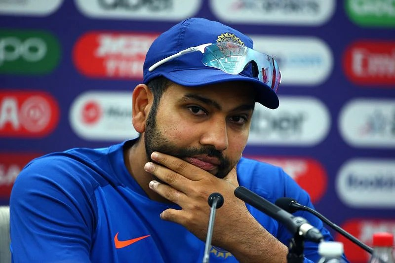 Rohit Sharma has captained India in just ten ODIs