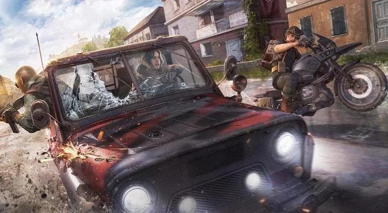 Keep your vehicles till final zones (Image via Krafton)
