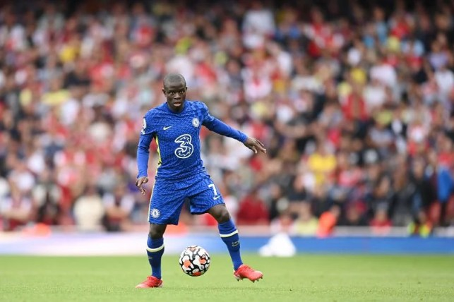 Chelsea are signing a new contract for N'Golo Kante.