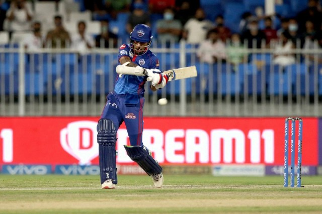 Shikhar Dhawan was the only Delhi Capitals batter to score more than 500 runs in IPL 2021. (Image Courtesy: IPLT20.com)