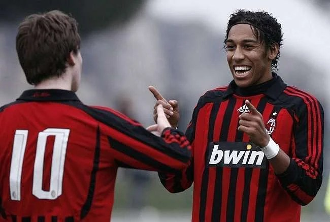 How AC Milan let go of Pierre-Emerick Aubameyang when he was 22