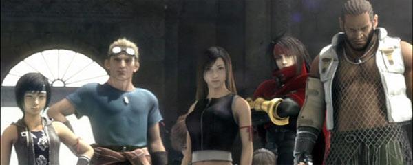 Final Fantasy VII Advent Children Actors Images