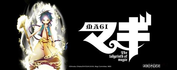 Magi The Labyrinth Of Magic AnimesManga
