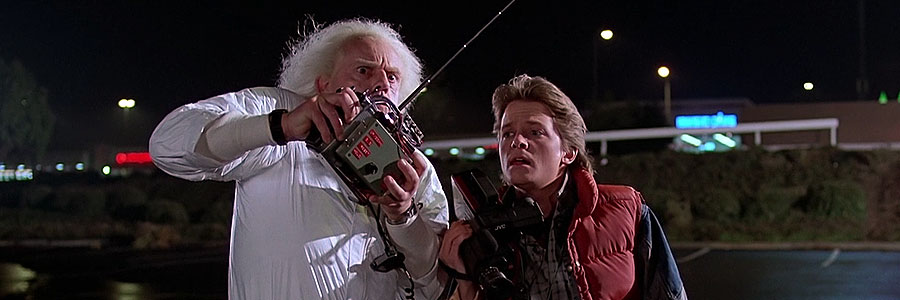 From the movie of Back To The Future