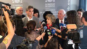 María Luisa Carcedo y Florentino Pérez Raya